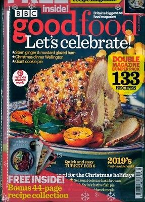 Bbc Good Food Magazine December 2018 With Free Winter Recipe Magazine