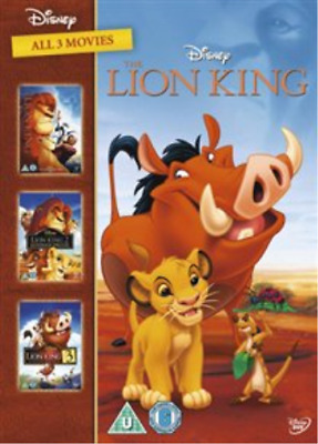 Lion King Trilogy (UK IMPORT) DVD NEW