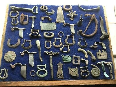 Large Lot Of Detecting Found Artefacts 8