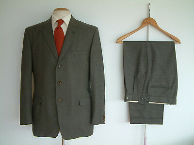 """1950's/60's SUIT BY DAKS..42"""" x 36""""..SPORTS CHECK..WIDE LEG..PERMANENT TURN-UP'S"""