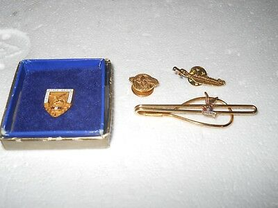 Vintage F.O.E. Fraternal Order Of Eagles Pins and Tie Clasp 7cbac950d2ac