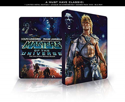 Masters Of The Universe (Steelbook) (UK IMPORT) BLU-RAY NEW