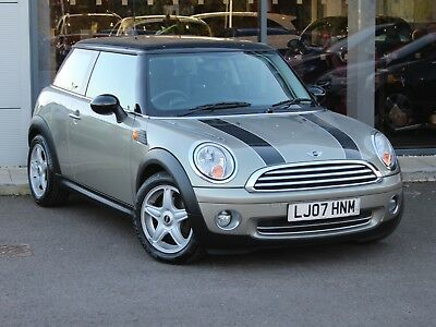 2007 07 MINI COOPER 1.6 HATCH 3dr [AC] - CHILI PACK - SUNROOF - ONLY 43834 MILES