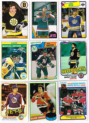HUGE Lot Of 1980-1989 Rookies - Parallels - Inserts - Base