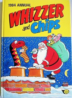 'WHIZZER AND CHIPS' Annual 1984 : Hardback : ISBN 85037 923 7