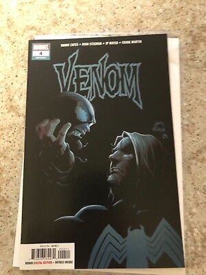 Venom #4 (2018) Origin Of Knull 1St Print Ryan Stegman Donny Cates Marvel