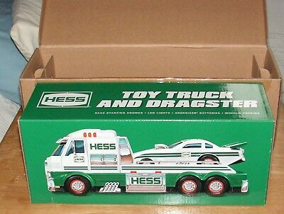 NEW 2016 Hess Toy Truck and Dragster-Mint Condition