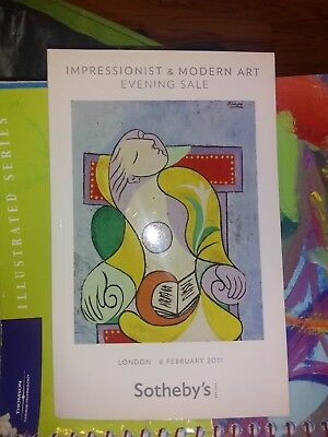 Sothebys London Impressionist and MODERN Art 2/8/2011 Auction Catalog Picasso