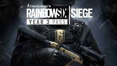 Rainbow Six Siege Year 3 Pass | PC | DLC code for the expansion not the game