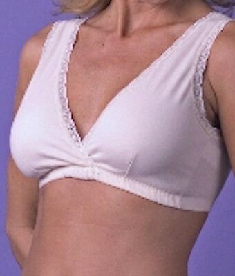 NEW Bra XL Extra Large Sleep Leisure Nursing Cotton Fancee Free Breastfeeding