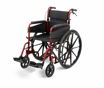 Days Escape Lite Self Propelled Wheelchair Ruby Red Standard - NEW - CLEARANCE