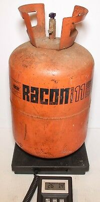Racon R11 Cleaning Solvent Refrigerant 21 lbs in Partial 25 lb Tank
