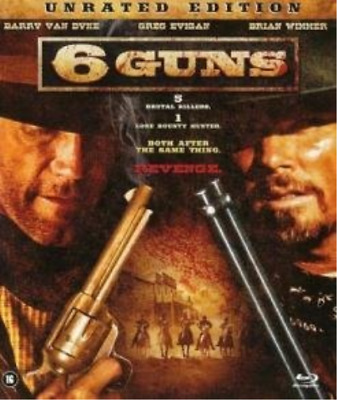 6 Guns (UK IMPORT) BLU-RAY NEW