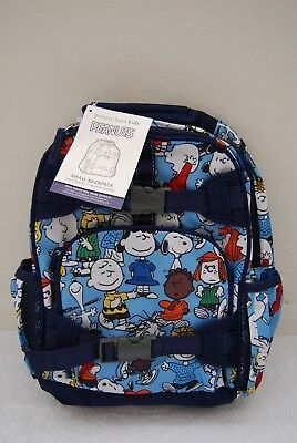 NEW Pottery Barn Kids Peanuts SMALL Mackenzie Backpack Snoopy Charlie Brown Lucy