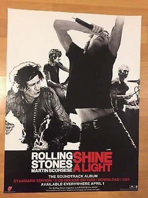ROLLING STONES POSTER Rare New 2000'S Vintage Mick Jagger Keith