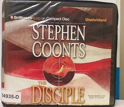 AUDIO BOOK on CD's THE DISCIPLE-Stephen Coonts