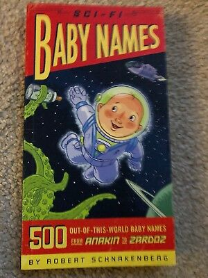 Sci-fi Baby Names Book