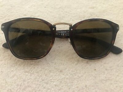 36859c6ea71 PERSOL TYPEWRITER EDITION Brown Sunglasses 3110-S New! -  199.99 ...