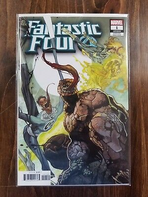 Fantastic Four #1 Cover I Variant Simone Bianchi Venomized Party Cover