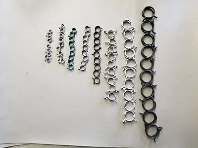 Norma Constant Tension Hose Clamps  80 piece assortment
