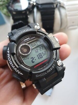 CASIO GWF-D1000-1ER G-Shock Frogman Divers Watch with Depth Gauge and Compass