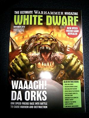 White Dwarf Magazine November Issue 2018 (new)