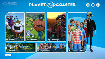 Planet Coaster Deluxe Edition STEAM PC  + Mutant Year Zero: Road to Eden