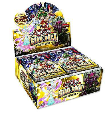 Yugioh Star Pack: Battle Royal Booster Box - New & Sealed - 50 Packs