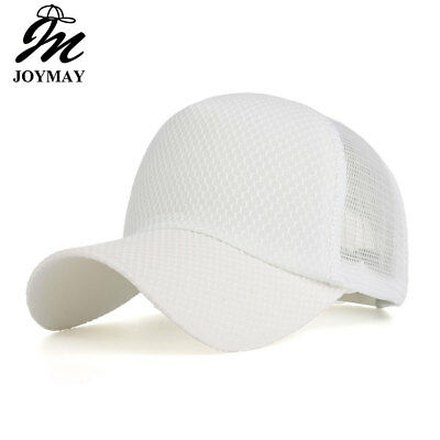 Joymay NEW ARRIVAL Spring Summer season leisure style Solid color mesh cap