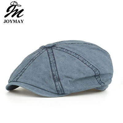 JOYMAY 2018 New Arrival Spring Berets Caps Unisex Casual Octagonal Hats solid