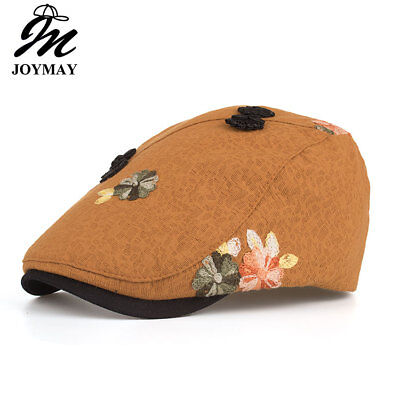 JOYMAY 2018 New Arrival Spring Berets Caps High quality Woman Flower Casual