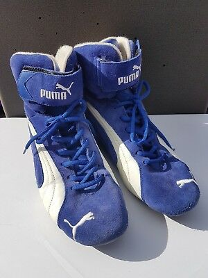 Puma Race Cat Nomex rally boots FIA 8856-2000 EU44 UK10 Discontinued Collectable
