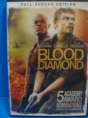 Blood Diamond (DVD, 2007, Full Screen Edition), New in Wrapper