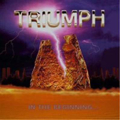 Triumph-In the Beginning... (UK IMPORT) CD NEW