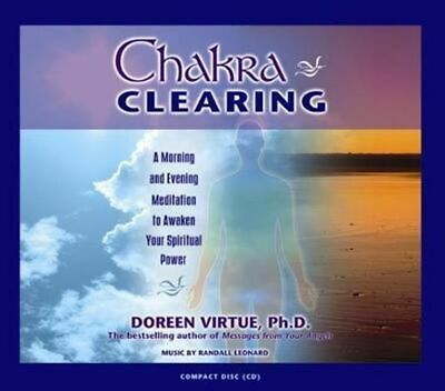 NEW Chakra Clearing By Doreen Virtue Audio CD Free Shipping