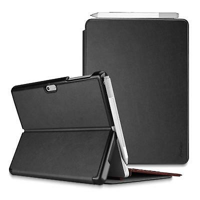 Microsoft Surface Go Case Slim Light Smart Cover Stand Hard Shell Pen Holder