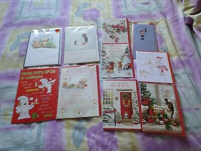 Small Joblot Of Family Christmas Cards New Lot 1