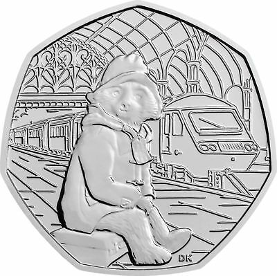 Paddington 50p Fifty Pence At Train Station 2018 Coin Rare Collectible