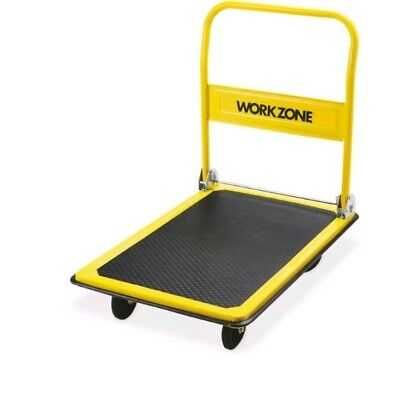 Workzone 360KG HEAVY DUTY FOLDING PLATFORM HAND SACK TROLLEY TRUCK WAREHOUSE
