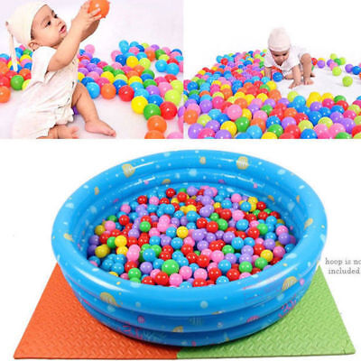 50 Pcs Colorful Baby Kid Pit Toy Game Swim Pool Soft Plastic Ocean Ball 7cm