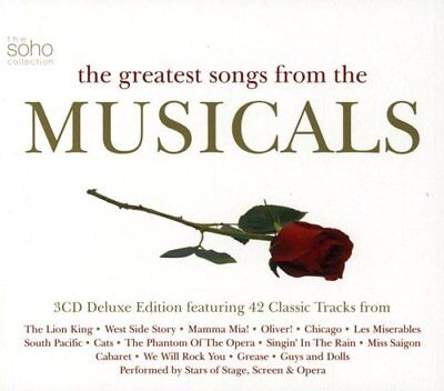 The Greatest Songs From The Musicals [CD]