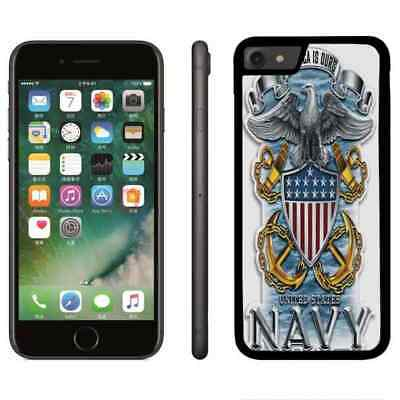 United States NAVY USN Phone TPU Case Cover For iPhone 6 6s 7 8 plus X Xr Xs max