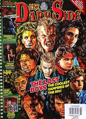 The Dark Side 80's Horror Special Movie Magazine Issue 189 LOST BOYS NEW 2018 UK