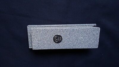 Magnetic Silver Testing Slide - Composite Material Version With Granite Effect