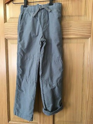 NWT Gymboree Boys Pull on Pants Gray Jersey Lined Gymster Outlet 4,5,6,7,8,12
