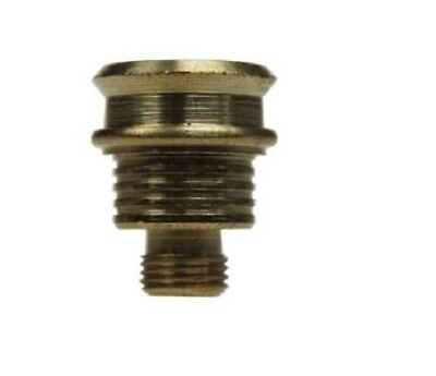 Extra Large screw in Brass Piece Tobacco Bonza Billy Toker Mull Buds Cigarette