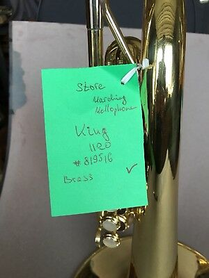King Model 1120 Marching Mellophone