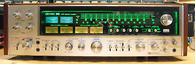 Fully Restored Sansui QRX-9001 Quadraphonic Stereo w/ QBL-100 4 Channel Remote