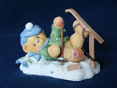 Cherished Teddies - Spencer - Boy Fallen Down With Skis - 269743 - 1997