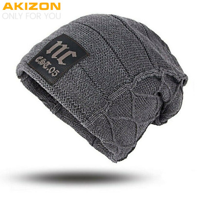 AKIZON Unisex Womens Mens S Camping Hat Winter Beanie Baggy Warm Wool Cap Hot